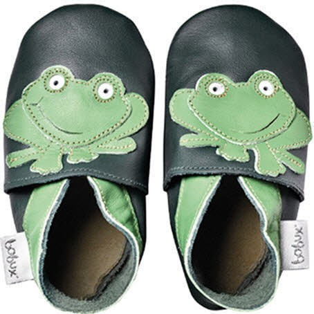 Bobux Frog dark green